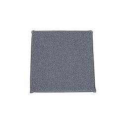 Klaus Seat Cushion platin | Cojines | Steiner
