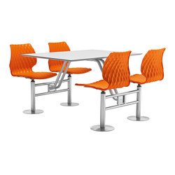 Uni 500 | Bancos y mesas para restaurantes | Metalmobil