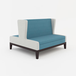 Symphony two seat  banquette back to back | Benches | ERG International