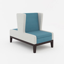 Symphony single seat banquette back to back | Sièges | ERG International