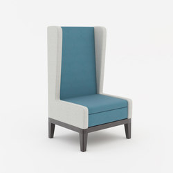 Symphony lounge chair with high back | Lounge chairs | ERG International