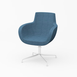 Vella mid back | Visitors chairs / Side chairs | ERG International