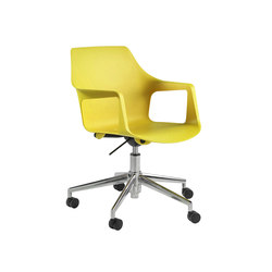 Vesper swivel arm chair | Chairs | ERG International