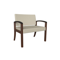 Westlake wood bariatric chair | Waiting area benches | ERG International