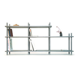 Wooden shelf | Office shelving systems | MHPD