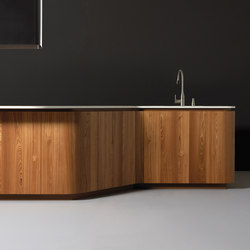 Sinuosa | Island kitchens | Effeti Industrie SRL