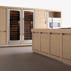Wood 100% | Cuisines intégrées | Effeti Industrie SRL