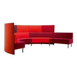 Kaari | modular sofa | Sofás lounge | Isku