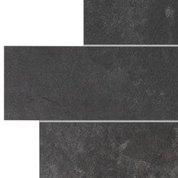 Stonework ardesia nera muretto | Keramik Fliesen | Ceramiche Supergres
