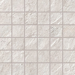 Stonework quarzite bianca mosaico | Baldosas de cerámica | Ceramiche Supergres