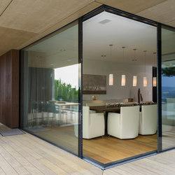 Sliding window-cornering | Window types | air-lux