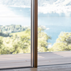 air-lux 173 connect bronze-wood | Window systems | air-lux