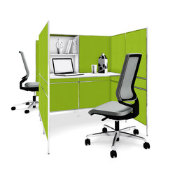 Bosse Micro workstation | Sistemas de oficina | Bosse Design
