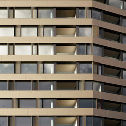 air-lux complete facades cladding - high rise | Facade design | air-lux