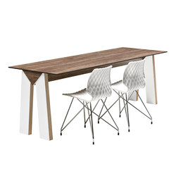 Low Link 508 | Restaurant tables | Metalmobil