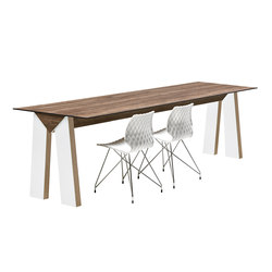Low Link 509 | Restaurant tables | Metalmobil