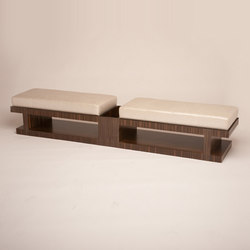 Howie Magazine Storage Bench | Bancs | Cliff Young