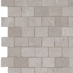 Story grey mosaico burattato | Floor tiles | Ceramiche Supergres
