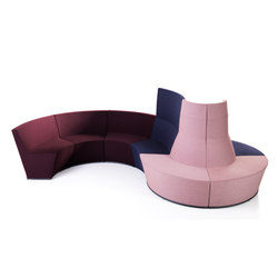 Area Radius | High & Low Modules | Modular seating elements | Lammhults