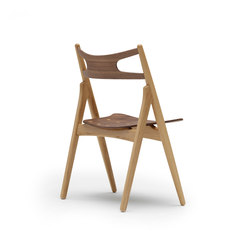 CH29 Sawbuck Chair | Visitors chairs / Side chairs | Carl Hansen & Søn