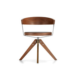 G 125 Four-legged swivel chair | Sedie | Girsberger