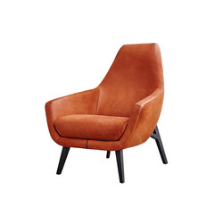 Enzo four legs | Lounge chairs | Montis