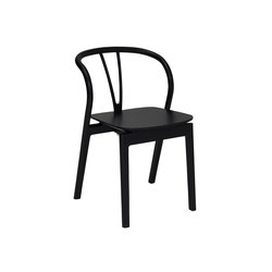 Flow | Dining Chair Black | Chaises | L.Ercolani