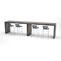 Parma bar height table panel table | Tavoli bar | ERG International
