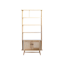 Originals room divider | clear | Wall storage systems | Ercol