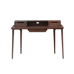Treviso desk | walnut | Escritorios individuales | Ercol