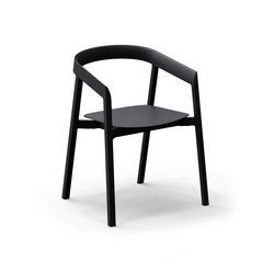 Mornington Dining Chair with Aluminium Seat | Restaurant chairs | VUUE