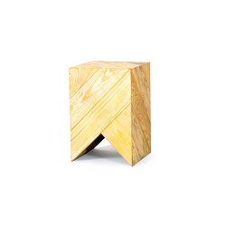 Series 45 Stool/Side Table natural | Tavolini di servizio | Daniel Becker Design Studio