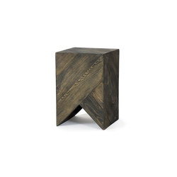 Series 45 Stool/Side Table black | Mesas auxiliares | Daniel Becker Studio