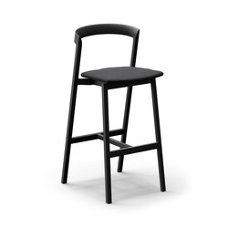 Mornington Bar Stool with Aluminium Seat and Cushion | Bar stools | VUUE