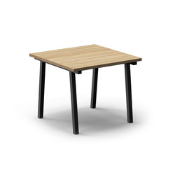 Mornington Table A with Oak Veneer Top | Canteen tables | VUUE
