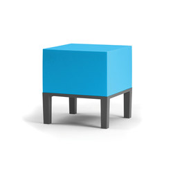 Primary Pouf 01 sky blue | Garden stools | Quinze & Milan
