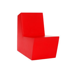 Primary Solo red | Modular seating elements | Quinze & Milan