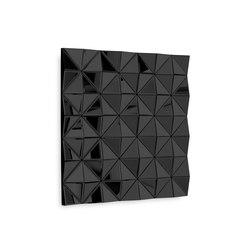 Stella Square black | Décoration murale | Reflections by Hugau/Larsson