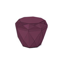 Diamond Table burgundy | Tavolini alti | Reflections Copenhagen
