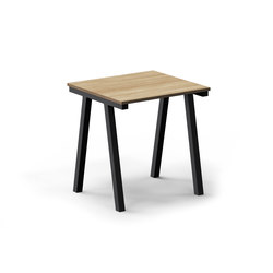 Mornington Table D with Oak Veneer Top | Cafeteria tables | VUUE