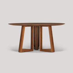 lineground round dining table | Mesas para restaurantes | Skram