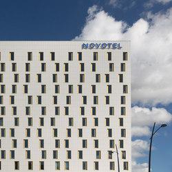 Facades Novotel | Revestimientos de fachada | Mosa