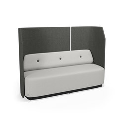 Fields 3 seater | Loungesofas | Kinnarps