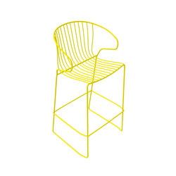 Bolonia Barstool | Citric Yellow | Bar stools | iSimar