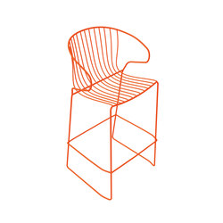 Bolonia Barstool | Orange Vitamin | Bar stools | iSimar