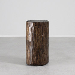 Santa Fe Solid Pine Log | Side tables | Pfeifer Studio