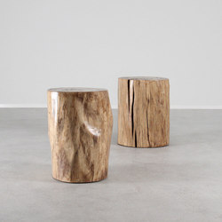 Pale Rider Cottonwood Stump Table | Side tables | Pfeifer Studio