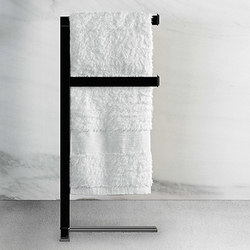 Gessi Fascino Freestanding Towel Rack | Towel rails | Gessi USA