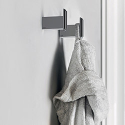 Gessi Fascino Robe Hook | Towel hooks | Gessi USA