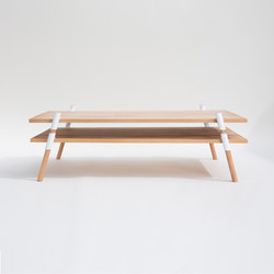 Italic 2-Tier Coffee Table | Alder | Tables basses | Yield